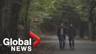 Khashoggi investigation: Turkish police searching forest for journalist's remains