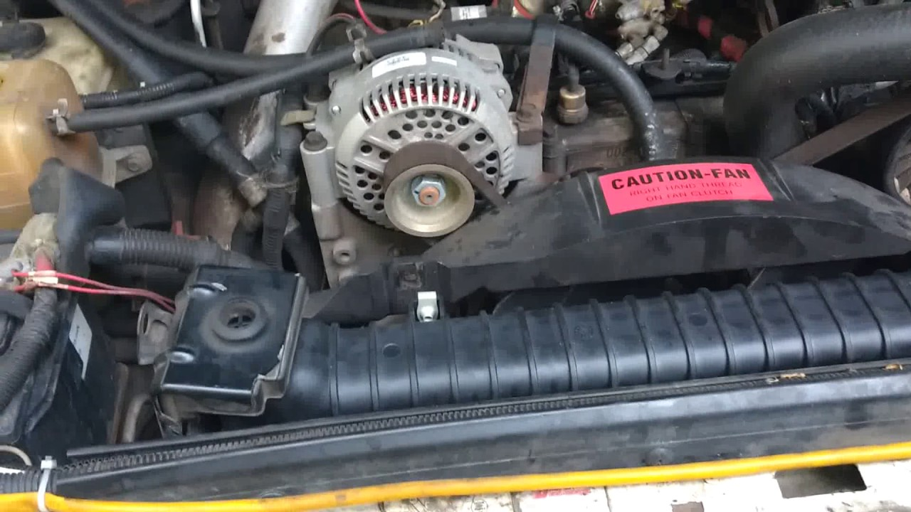 1995 f350 powerstroke radiator replacement