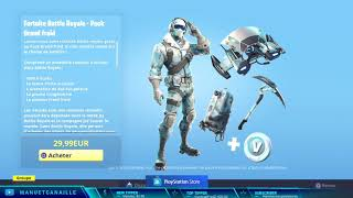 NEW PACK FORTNITE DISPONIBLE IN THE COMM!! PACK BIG COLD