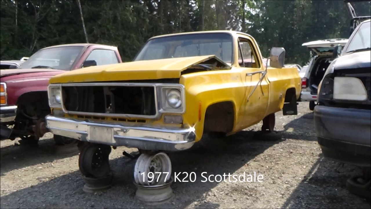 Square Body In The Junk Yard Episode 1