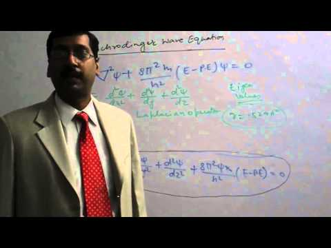 Schrodinger Wave Equation Part-1 in Atomic Structure for IIT and Medical