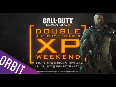 COD: BO3 | ITS DOUBLE XP WEEKEND!