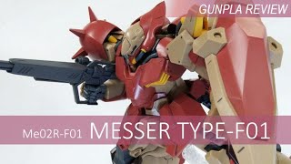 HGUC Me02R-F01 Messer Type-F01 Review