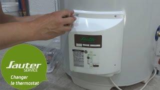 Comment Changer Le Thermostat Electronique D Un Chauffe Eau Vertical Sur Socle Sauter Youtube
