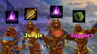 SMITE - A Visit To Every Lane With Ra