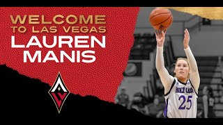 Las Vegas Aces Select Lauren Manis In WNBA Draft