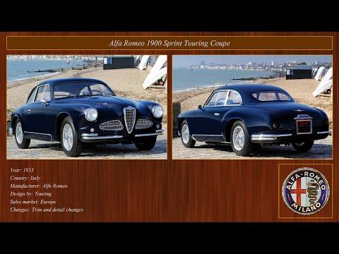 Classic Cars Collection Alfa Romeo 1951 1955 Youtube