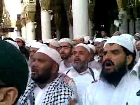 salam madina 2010 after eidulfitar sajjad bukhari from narowal