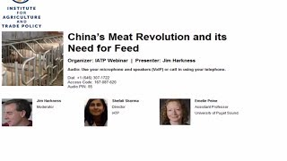 China's Meat Revolution and its Need for Feed