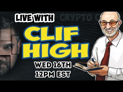 LIVE With CLIF HIGH - HalfPastHuman.com - Bitcoin Price - Financial Collapse Coming In November? 😱
