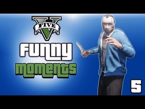 GTA 5 Online Funny Moments Ep. 5 (KYR...