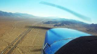 Cessna 152 Landing at Chiriaco Summit
