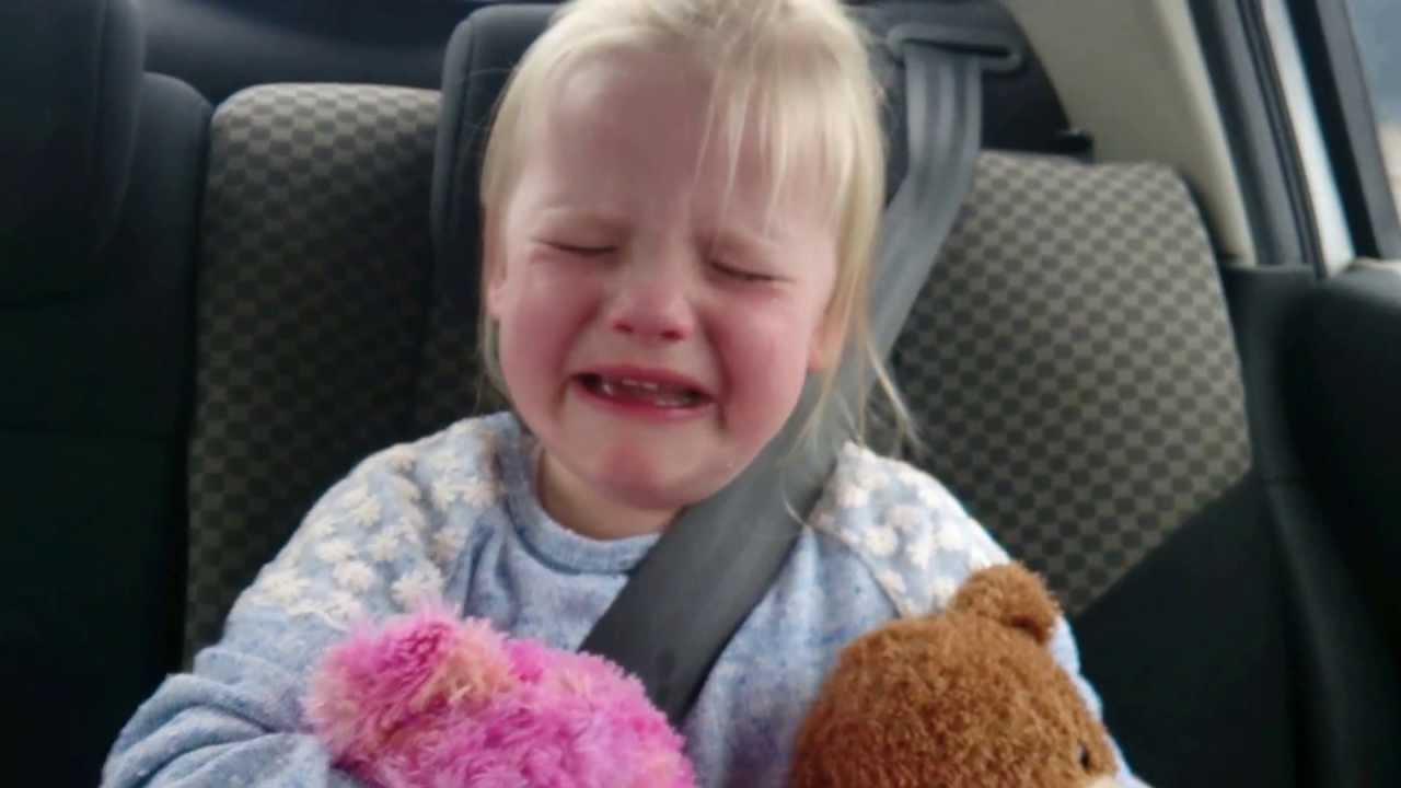 little girls crying naked