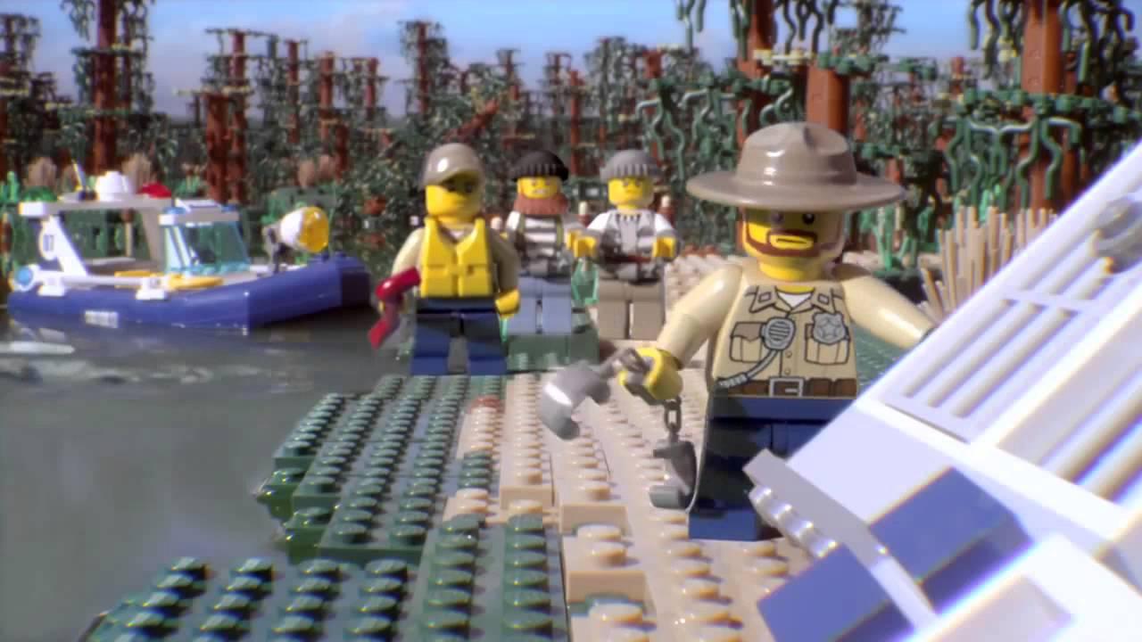 Lego City Policja Wodna Youtube