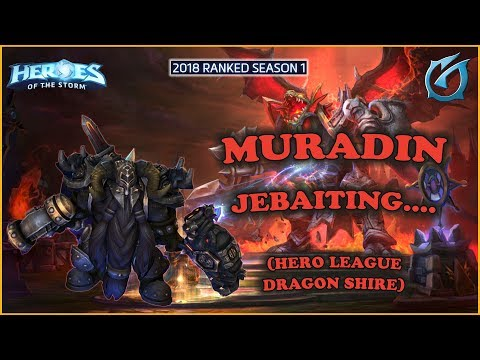 Grubby | Heroes of the Storm - Muradin - Jebaited  - HL 2018 S1 - Dragon Shire