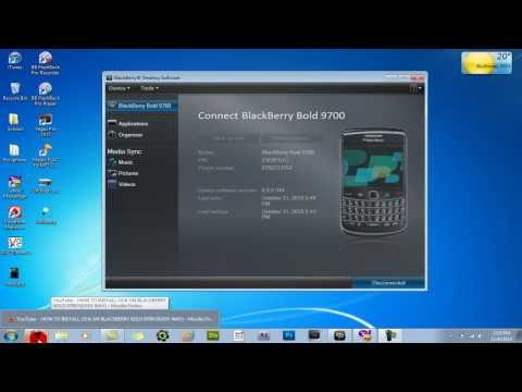 FIX TO HOW TO INSTALL OS 6 ON BLACKBERRY BOLD 9700!