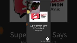 Mr bear plays roblox super Simon says