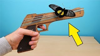 Резинкострел Пистолет и Ружье! Распаковка и обзор игрушек! alex boyko