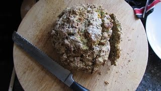 Crusty No Knead Carrot And Courgette Bread