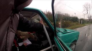janovich csi sndor richrd lada 2106 lbatlan bajna rally gy1 crash