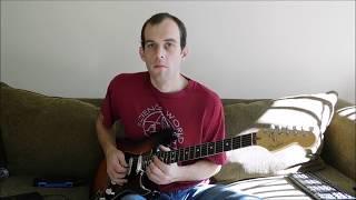 Wilson Pickett ( Featuring Duane Allman) - Hey Jude Guitar Solo Cover