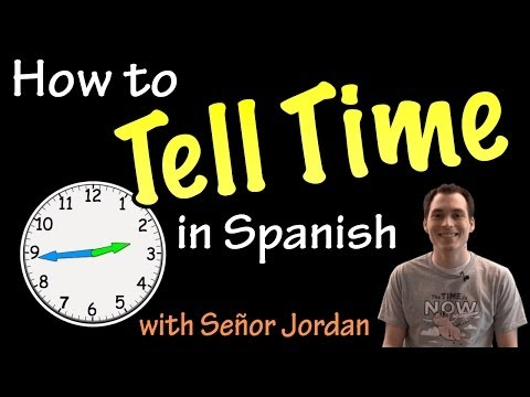 How do i say half hour in spanish