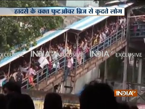 Mumbai: 15 dead, over 30 injured in stampede at Elphinstone railway station
