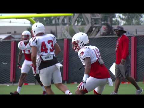 FB: Head coach Bobby Petrino and players Discuss Fall Scrimmage