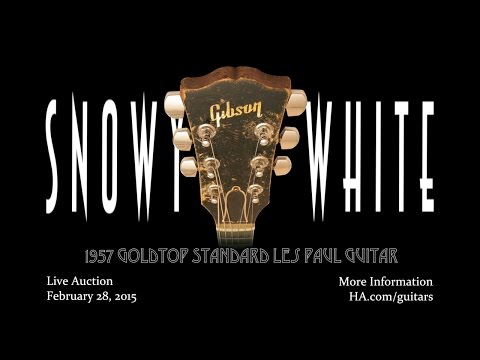 Snowy White talks about his iconic 1957 Goldtop Standard Les Paul guitar