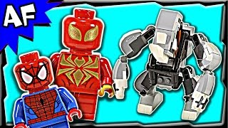 Lego Spiderman RHINO & SANDMAN Super Villain Team-up 76037 Stop Motion Build Review