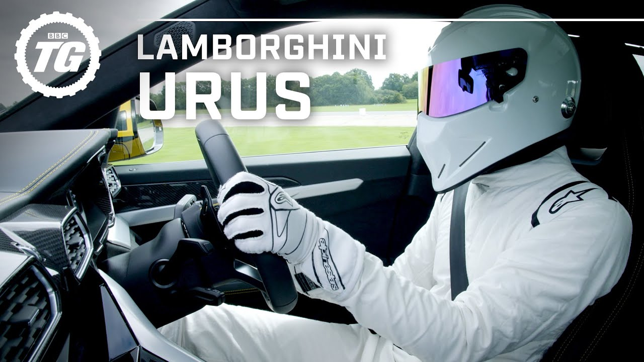 StigCam: The 650bhp Lamborghini Urus Stig Lap | Top Gear
