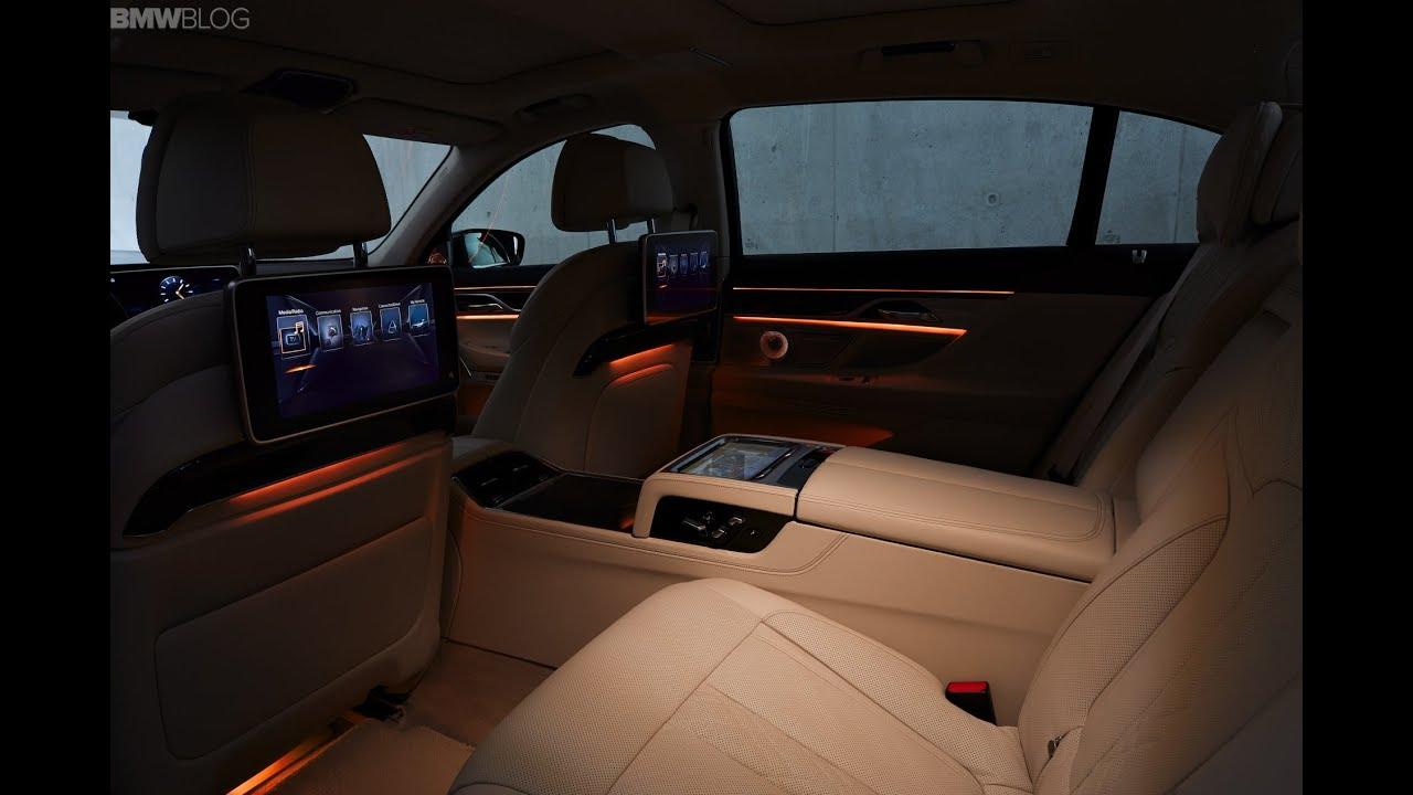 BMW 750Li Ambient Light