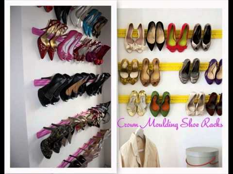 Shoe Storage Solutions Cheap Shoe Storage Solutions Youtube