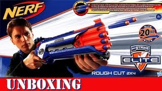 Unboxing Nerf Rough Cut 2x4 [deutsch/german]