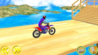 Dirt Motorbike Balance Ride Stunt Racing | Bike 3D Games | Game of Bikes | Bike Games #11