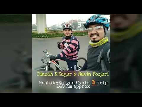 🚵Cycle Trip 140Km Nashik-Kalyan