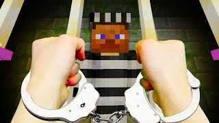 REALISTIC MINECRAFT - STEVE GOES TO JAIL! 🔒