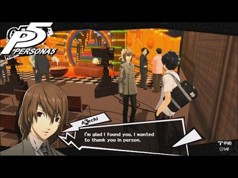 Persona 5: TV Station Trip (Blind) [No Commentary]