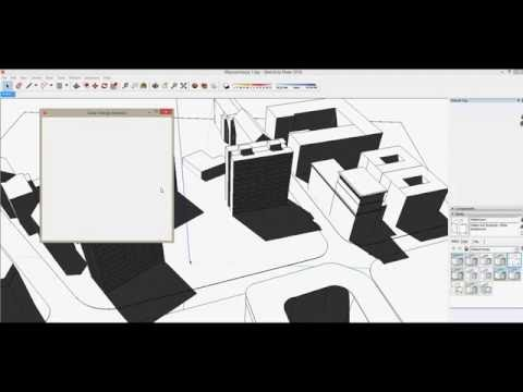 Solar Energy Analysis plugin for SketchUp - installation and demo