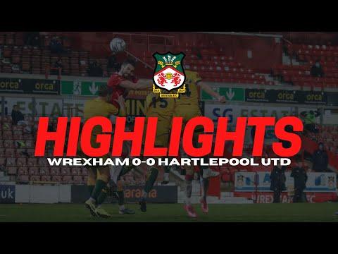 Wrexham Hartlepool Goals And Highlights