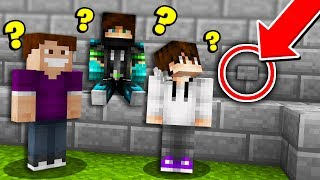 How many YouTubers does it take to find a Minecraft button?