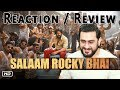 Reaction on SALAAM ROCKY BHAI Song | KGF Chapter 1 | Yash | Prashanth Neel