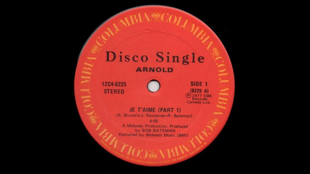 Arnold - Je T'Aime album mp3 track