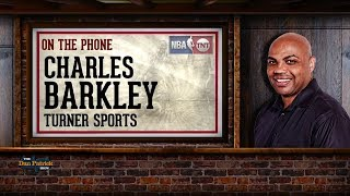 Turner Sports' Charles Barkley on The Dan Patrick Show | Full Interview | 9/25/17