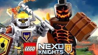 Мультик  Игра Лего Рыцари Нексо.  Вторая Битва с Молдроном .Серия №18#Лего