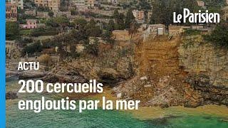 Italie : un cimetière s'effondre, 200 dépouilles tombent à la mer