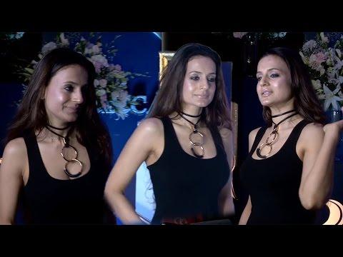 Hot Ameesha Patel in Tight Black Sleevless at Rebecca Dewan Fashion Show thumbnail