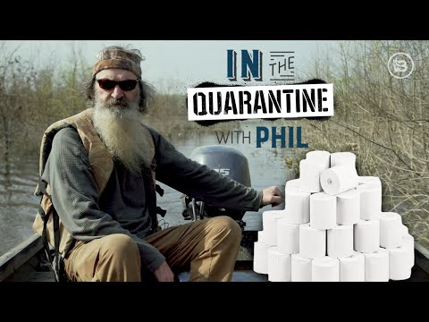 In The Quarantine With Phil: We're Running Out Of Toilet Paper!