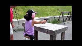 Amazing 9 Year Old Competitive Shooter Shyanne Roberts