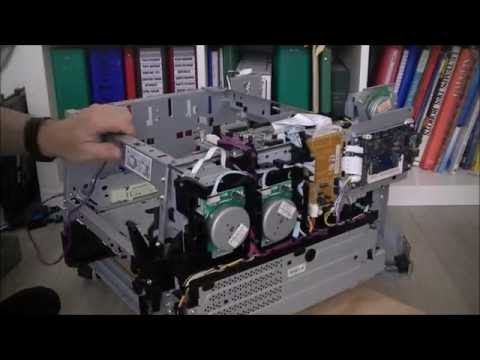 HP laserjet pro 400 color printer teardown part 3 big progress